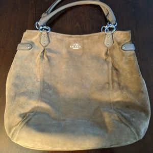 Coach Large Tan Shoulder Bag